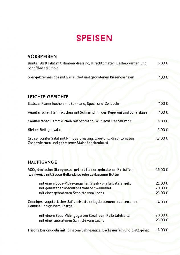 Speise- und Getränkekarte Restaurant Mai 2018 2 Einzelseite3