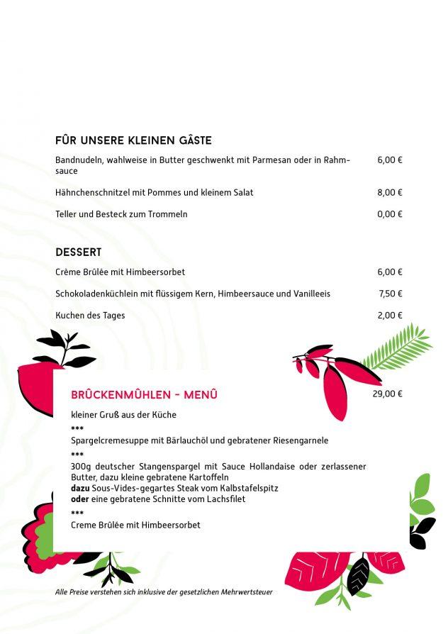 Speise- und Getränkekarte Restaurant Mai 2018 2 Einzelseite4